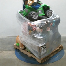 3 Pallets – 162 Pcs – Toys – Action Figures, Vehicles, Trains & RC, Vehicles – Customer Returns – Funko, Huffy, Star Wars, Funko POP