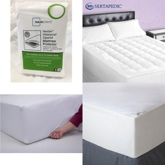 Pallet – 37 Pcs – Covers, Mattress Pads & Toppers, Comforters & Duvets – Customer Returns – Mainstays, Aller-Ease, Beautyrest