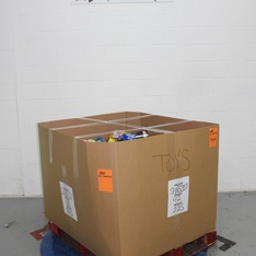 Pallet - 899 Pcs - Action Figures, Not Powered, Boardgames, Puzzles & Building Blocks, Pretend & Dress-Up - Customer Returns - Toysmith, JAKKS PACIFIC, Horizon, Making in the Moment