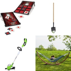Pallet – 22 Pcs – Outdoor Play, Trimmers & Edgers, Gardening Hand Tools – Customer Returns – EastPoint, GreenWorks, UNBRANDED, Karcher