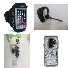 50 Pcs - Cellular Phones Accessories - New - Armpocket, Belkin, Plantronics, CASE-MATE