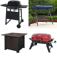 Pallet – 8 Pcs – Grills & Outdoor Cooking, Fireplaces – Customer Returns – Uniflame, Bond Manufacturing, HomeTrends, Backyard Grill