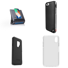 250 Pcs - Cellular Phones Accessories - Like New, Open Box Like New, New Damaged Box, Used - Heyday, OtterBox, Speck, Belkin