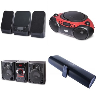 Pallet – 82 Pcs – Accessories, Speakers – Customer Returns – onn., Onn, One For All
