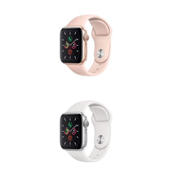 10 Pcs – Apple Watch – Series 5 – 40MM – Refurbished (GRADE A) – Models: MWV72LL/A, MWV62LL/A