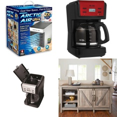Truckload - 26 Pallets - 678 Pcs - Drip Brewers / Perculators, Humidifiers / De-Humidifiers, Fans, Trimmers & Edgers - Customer Returns - As Seen On TV, Mr. Coffee, Hyper Tough, Mainstay's