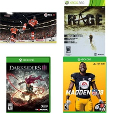 69 Pcs – Microsoft Video Games – Used, New, Like New – NHL 17 :Xbox One, Darksiders III Xbox One, 11743, Madden NFL 19 (XB1)