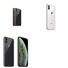 5 Pcs - Apple iPhone Xs Max - Refurbished (GRADE A - Unlocked) - Models: MT592LL/A, MT5G2LL/A, MT5A2LL/A