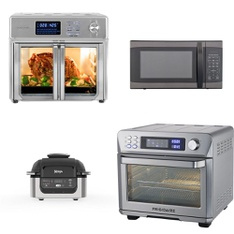 Pallet – 16 Pcs – Microwaves, Slow Cookers, Roasters, Rice Cookers & Steamers – Customer Returns – Kalorik, Hamilton Beach, RCA, Sunbeam