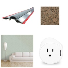 100 Pcs - Home Improvement - New - Retail Ready - Tempaper, M-D Building, Samsung, MSI