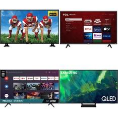 18 Pcs - LED/LCD TVs - Refurbished (GRADE A) - RCA, TCL, HISENSE, LG
