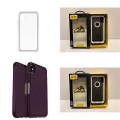 79 Pcs - OtterBox Cellular Phone Accessories - Like New, Open Box Like New, Used - Retail ready