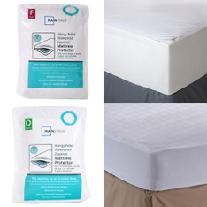 3 Pallets - 112 Pcs - Covers, Mattress Pads & Toppers, Comforters & Duvets, Bedding Sets, Bedroom - Customer Returns - Mainstay's, Aller-Ease, Better Homes & Gardens, Aller Ease