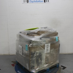 Half Truckload - 13 Pallets - 521 Pcs - Covers, Mattress Pads & Toppers, Heaters, Fans, Hardware - Customer Returns - Mainstay's, Honeywell, Filtrete, Aller-Ease