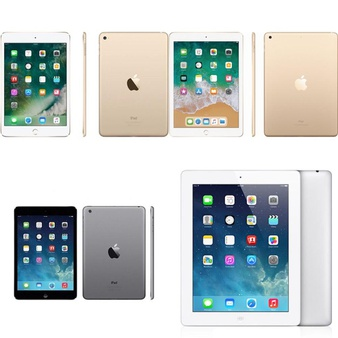 55 Pcs – Apple Ipad – Refurbished (GRADE A) – ME780LL/A, 3A335LL/A, MPGA2LL/A, MD911LL/A