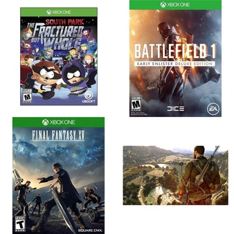 53 Pcs – Microsoft Video Games – New, Used, Like New – South Park: The Fractured but Whole – (XB1), 91502, 37121, Outlast Trinity (Xbox One)