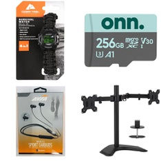 66 Pcs – Watches (NOT Wearable Tech), Other, Cases, In Ear Headphones – Customer Returns – Ozark Trail, AVIA, onn., HLC