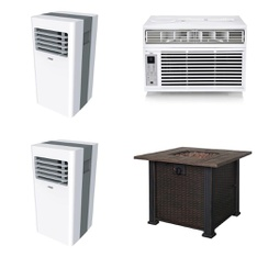 Pallet - 9 Pcs - Bar Refrigerators & Water Coolers - Customer Returns - Arctic King, Primo, WHIRLPOOL, Hamilton Beach