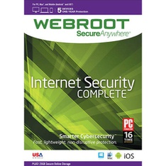 Webroot 8112517 Complete Protection Software (Windows/Mac) - Brand New