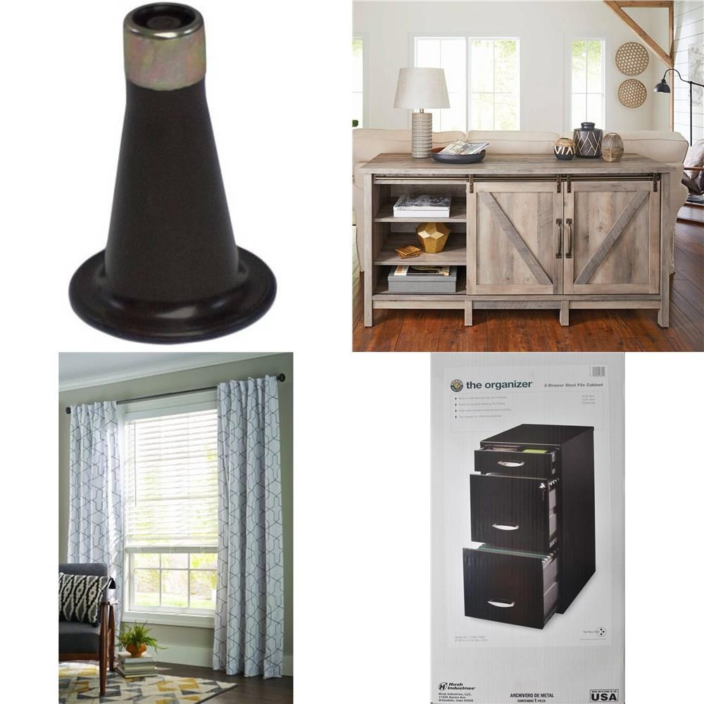 Walmart - Pallet - 18 Pcs - Office, Dining Room & Kitchen, Curtains &  Window Coverings - Customer Returns - Mainstays, Better Homes and Garden,  ...