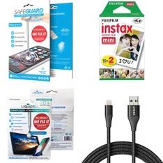 Pallet - 562 Pcs - Accessories, Other, Point & Shoot, Security & Surveillance - Customer Returns - Liquipel, LIQUIPEL SAFEGUARD, Fujifilm, Apple