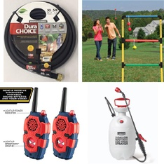 Pallet – 30 Pcs – Accessories, Outdoor Play, Leaf Blowers & Vaccums – Customer Returns – Swan, Hyper Tough, Hart, Go! Gater