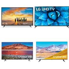 12 Pcs – LED/LCD TVs – Refurbished (GRADE A, GRADE B) – VIZIO, Samsung, LG, TCL