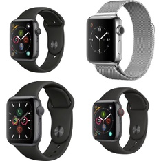 20 Pcs – Apple Watch – Refurbished (GRADE D) – Models: MU6D2LL/A, MWV82LL/A, MP032LL/A, MQJR2LL/A