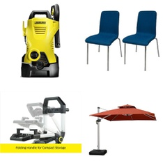 Pallet – 12 Pcs – Kitchen & Dining, Pressure Washers – Customer Returns – Karcher, Room Essentials, Backyard Grill, PURPLE LEAF