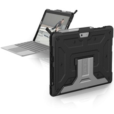 27 Pcs - UAG 321076114040 Microsoft Surface Go Feather-Light Rugged Case, Metropolis, Black - Used, Like New - Retail Ready