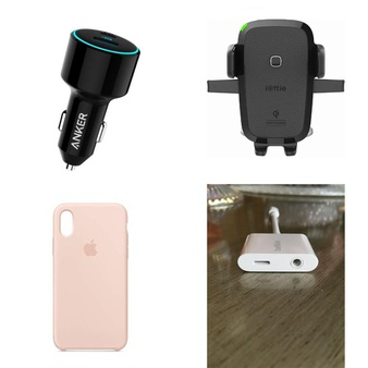 149 Pcs – Electronics & Accessories – New, Like New, Used, New Damaged Box – Retail Ready – Anker, OtterBox, Apple, Incipio