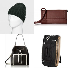 31 Pcs - Backpacks, Bags, Wallets & Accessories - New - Retail Ready - Goodfellow & Co, LUANA ITALY, Metolius, Kendall + Kylie