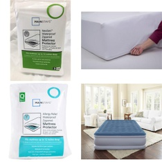 12 Pallets – 522 Pcs – Covers, Mattress Pads & Toppers, Vacuums, Curtains & Window Coverings, Comforters & Duvets – Customer Returns – Mainstay's, Mainstays, Dirt Devil, Aller-Ease
