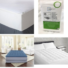 Pallet – 44 Pcs – Covers, Mattress Pads & Toppers, Comforters & Duvets – Customer Returns – Mainstay's, Aller-Ease, Mainstays, Beautyrest