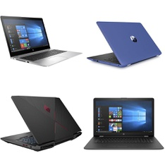 11 Pcs – Laptops – Refurbished (GRADE A, GRADE B) – HP