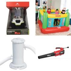 Pallet – 37 Pcs – Accessories, Outdoor Play, Patio & Outdoor Lighting / Decor – Customer Returns – Hyper Tough, Ozark Trail, Hart, Chapin