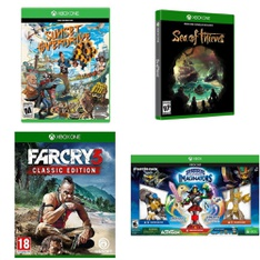 33 Pcs – Nintendo Video Games – Open Box Like New, Like New, New – Sunset Overdrive (XB1), Far Cry 3 Classic Edition Xbox One, Sea of Thieves (Xbox One), NHL 19 (Xbox One) Disc