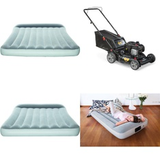 Half Truckload - 12 Pallets - 69 Pcs - Camping & Hiking, Mowers, Covers, Mattress Pads & Toppers, Blankets, Throws & Quilts - Customer Returns - Bestway, Murray, Mainstays, Tranquility