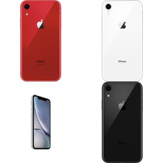 5 Pcs - Apple iPhone XR - Refurbished (GRADE A - Unlocked) - Models: MT022LL/A, MT0D2LL/A, MT012LL/A, MRYY2LL/A