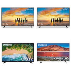 18 Pcs - LED/LCD TVs - Refurbished (GRADE A) - VIZIO, Samsung, onn., LG