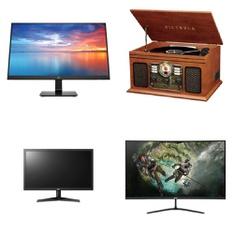 Pallet – 51 Pcs – Computer Monitors – Customer Returns – HP, LG, Victrola, ACER