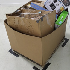 3 Pallets - 57 Pcs - Hardware, Accessories, Lamps, Parts & Accessories, Vacuums - Damaged / Missing Parts - Homevibes, Kwikset, Armstrong, Elite Acoustics