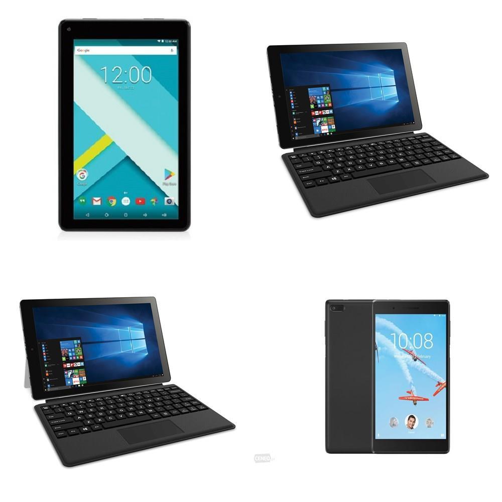 21 Pcs - Tablets - Refurbished (GRADE C) - RCA, IVIEW, LENOVO, EPIK