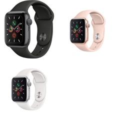 10 Pcs – Generation 5 Apple Watch – 40MM – Refurbished (GRADE A) – Models: MWV82LL/A, MWV62LL/A, MWV72LL/A