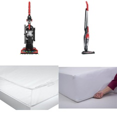 3 Pallets – 129 Pcs – Covers, Mattress Pads & Toppers, Vacuums, Bedding Sets – Customer Returns – Dirt Devil, Mainstay's, Mainstays, Aller-Ease