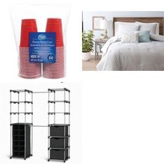 Pallet - 67 Pcs - General Merchandise - Customer Returns - Great Value, Mainstay's, HomeTrends