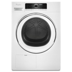 Lowes - Pallet - Whirlpool WHD5090GW 24 Electric Dryer 4.3 Cu. Ft. Ventless Heat Pump 10 Cycles 8 Options 3 Dry Levels in White - New (Scratch & Dent)