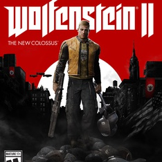 46 Pcs - Bethesda Wolfenstein II: The New Colossus (Xbox one) - New - Retail Ready