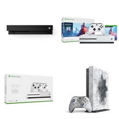 16 Pcs – Microsoft Xbox One Consoles – Refurbished (GRADE A) – Models: CYV-00070, SM-T510NZKGXAR, 234-00679, FMP-00130