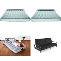 3 Pallets - 71 Pcs - Camping & Hiking, Mattresses, Bedroom, Living Room - Customer Returns - Bestway, Mainstays, Mainstay's, Beautyrest